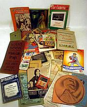 Vintage & Antique ESTATE EPHEMERA Theater Minor League Baseball Victorian Trade Cards Disney Picture Gun Toy Detroit Masonic