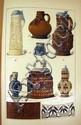 Edouard Garnier DICTIONNAIRE DE LA CERAMIQUE 1893 Antique Reference Work Monograms Pottery Faience Stoneware Color Plates