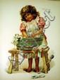 HAPPY STORY LAND c1914 Antique Children's Literature Published By Ernest Nister Color Plates Molesworth Hoyer Nesbit Weatherly