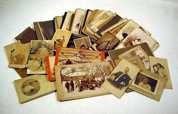 Antique PHOTOGRAPH COLLECTION Studio Cabinet Cards CDVs Factory Stereoviews