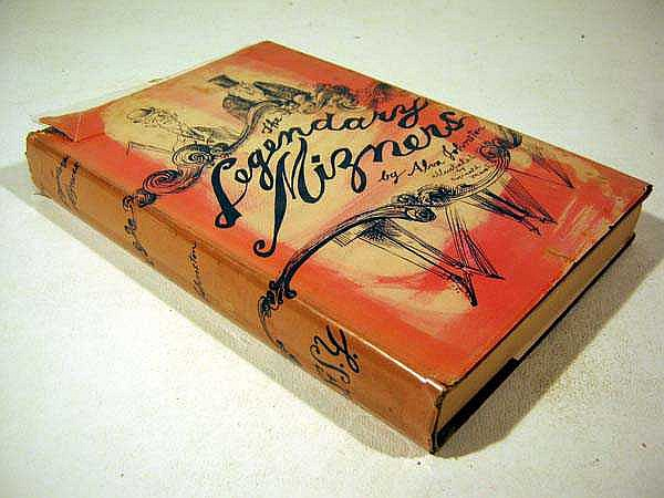 Alva Johnston THE LEGENDARY MIZNERS 1953 First Edition Signed By Illustrator Painter Alva Johnston