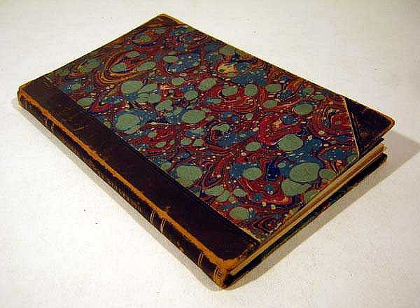 Charles I. Bushnell A NARRATIVE OF THE LIFE & ADVENTURES OF LEVI HENFORD: A SOLDIER OF THE REVOLUTION 1863 First Edition Antique Decorative Binding