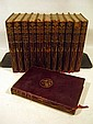 12V Robert Browning WORKS 1898 Complete Antique Leather-Bound Set Victorian English Literature Drama