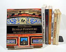 7V Russian Furniture ESTATE BOOKS Enamel American Baskets Basketry Weaving Samovars China Medicine Collectors' Cigarette Packs