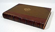 Heinrich Zimmern BEITRAGE ZUR KENNTNIS DER BABYLONISCHEN RELIGION 1901 First Edition Antique Archaeology Theology Babylon  Plates Decorative Leather