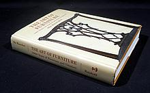 Ole Wanscher THE ART OF FURNITURE 5000 YEARS OF FURNITURE AND INTERIORS 1967 First US Edition Vintage Modernism Scandinavian Design Movement