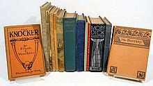 13V Moby Dick ANTIQUE LITERATURE Russian Verse Iron Curtain Fables Herman Melville Skallagrim Operetta The Viking Bodleys Exploration Denmark Norway Frank C Voorhies Herbert Strang Anthony Hope