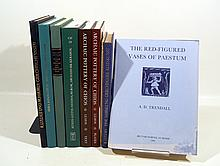 9V Art History GREEK VASES & POTTERY Archaeology Archaic Period Kleophrades Painter Red-Figured Black-Figured Classical Antiquities