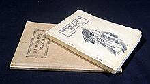 2V Alma White THE KU KLUX KLAN IN PROPHECY / KLANSMAN'S MANUAL 1925 / 1924 Antique White Supremacist Literature Organization Propaganda KKK United States History