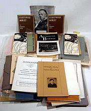 Books on Books CHRISTOPHER MORLEY BIBLIOGRAPHICAL & BOOK COLLECTING EPHEMERA Auction & Exhibition Catalogs Research Materials Book Selling Bibliophilia