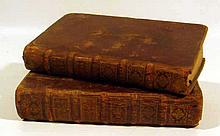 2V John Milton LE PARADIS PERDU DE MILTON POEME HEROIQUE TRADUIT DE L'ANGLOIS 1729 Antique English Literature French Translation