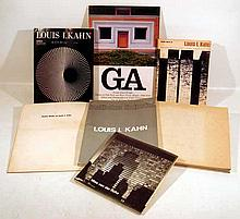 7V Collectible HISTORY OF ARCHITECTURE Louis I. Kahn Frank Lloyd Wright Oak Park River Forest House Mies van der Rohe Bauhaus Philip Johnson