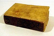 Francois Eudes De Mezeray HISTOIRE DE FRANCE AVANT CLOVIS 1688 First Edition Antique French History Catholic Church Vellum Binding
