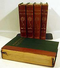 5V Frank Channing Haddock THE POWER-BOOK LIBRARY c1920 New Thought Business Power Successs Culture Of Courage Creative Personality Practical Psychology