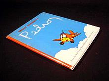 WALT DISNEY'S PEDRO THE STORY OF A LITTLE PLANE 1943 First Edition Vintage Juvenile Fiction South American Setting Scarce Dust Jacket