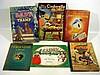 6V Vintage WALT DISNEY CHILDREN'S BOOKS Snow White Sheet Music Life of Donald Duck Pinocchio Cinderella Pop-Up Ferdinand the Bull
