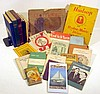 Vintage & Antique COLLECTIBLE ESTATE BOOKS & EPHEMERA Fraternal Masons WWVA Radio Station Missionary Muslim Women Gettysburg Souvenir Medical Almanac Dodge Yearbook Hudson Cars 1906 Maps ICS