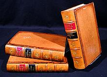 3V Austen Henry Layard NINEVEH AND ITS REMAINS / DISCOVERIES IN THE RUINS OF NINEVEH AND BABYLON 1849 / 1853 First Editions Antique British Archaeology Ancient Civilizations Fold-Out Plates & Maps Uniformly Bound