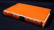 James Grant SKETCHES IN LONDON 1840 Second Edition Antique Travel Society English Social Life Phiz Illustrations Decorative Leather Binding