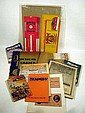 Vintage & Antique ADVERTISING EPHEMERA Tobacciana NOS Labels Matches Catalogs Fur Hobby Model Kits Sunday School Seeds