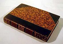 J. A. Boisduval HISTOIRE GENERALE ET ICONOGRAPHIE DES LEPIDOPTERES ET DES CHENILLES DE L'AMERIQUE SEPTENTRIONALE 1833 First Edition Antique Lepidoptery Decorative Leather