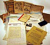 Vintage & Antique CORRESPONDENCE & LETTERHEADS Armstrong Co. Mastodon Woolverton Genealogy Dupont Heinz Westinghouse Trucker's Log