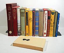 15V Wilde Coleridge SLIPCASED FOLIO SOCIETY 19TH-CENTURY ENGLISH LITERATURE Kipling Hazlitt Disraeli Mrs. Gaskell