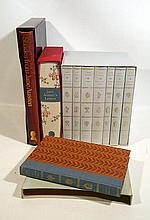 10V Folio Society Works  JANE AUSTEN Novels Letter Biography Limited Edition Silhouettes Color Plates Slipcase