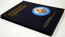 Officers & Men Of The 110th Naval Construction Battalion 1943-1945 CONTRACT COMPLETED c 1946 Vintage World War II Naval Memoir Photographic Illustrations & Line Drawings Seabees Memorial Airstrips Eniwetok
