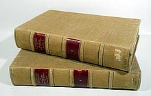 2V John Harris NAVIGANTIUM ATQUE ITINERANTIUM BIBLIOTHECA OR A COMPLETE COLLECTION OF VOYAGES AND TRAVELS 1744 - 1748 Antique English Navigation & Nautical History Plates Maps Revised