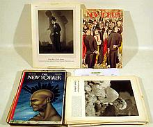 350 Pc. Vintage NEW YORKER COVERS, VANITY FAIR PHOTOGRAPHS Black & White Movie Star Celebrity Portraits Edward Steichen Lusha Nelson World Trade Center Illustrations Peter Arno Ludwig Bemelmans  Charles Addams