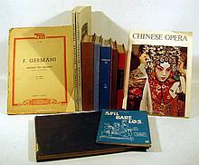 12V Vintage & Antique MUSIC HISTORY & MUSICOLOGY Stravinsky Harmony  Bartered Bride Smetana Sarah Caldwell Chinese Opera Mozart Symphonies Piano Four-Hands Denkmaler Deutscher Tonkunst Norwegian Folk Music