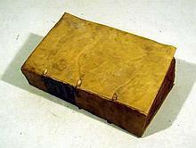 Oribasius ORIBASII SARDIANI COLLECTORUM MEDICINALIUM 1555 Antique Medical Scholarship Ancient Rome Vellum Binding