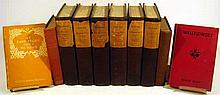 10V Antique COLLECTIBLE LITERATURE Signed Temple Bailey Emile Zola Set L'Assomoir Germinal The Earth Nana Piping Hot Purple Limited Detective Story