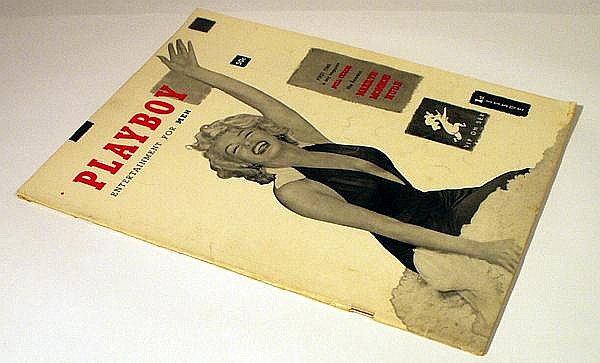 PLAYBOY - 1953 Marilyn Monroe Premiere Issue Classic Men's Magazine Nude Models