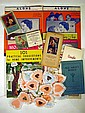 Vintage COLLECTIBLE ESTATE EPHEMERA Marx Bros. Sheet Music Beauty Salon Magazine Sphinx Magician 1950s Perfume Samples Pin-Up Calendar