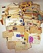 Vintage & Antique POSTAL COVERS Stamps Envelopes United States Foreign International 1920s-1960s