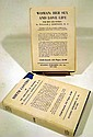 2V William J. Robinson WOMAN: HER SEX & LOVE LIFE / BIRTH CONTROL 1936 Antique Eugenics