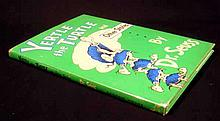 Dr. Seuss YERTLE THE TURTLE AND OTHER STORIES 1958 First Printing Vintage Illustrated Children's Literature Dust Jacket