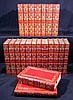 21V THE COLLECTED WORKS OF GEORGE MOORE 1922 Author-Signed Limited Edition Modern Irish Literature Tipped-In Frontispieces Decorative Leather