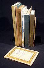 8V Vintage EUROPEAN LITERARY & PRINTING HISTORY French Revolution Refugee Newspapers Plantin Moretus Fifteenth Century Studies Romantic Movement