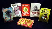 6V Vintage COLLECTIBLE FIRST EDITION LITERATURE Larry McMurtry Richard Adams Rube Goldberg L. Sprague de Camp Charles McCarry Anne Rice Rampling