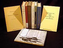9V Vintage BIBLIOGRAPHY & BOOKS ON BOOKS Lewis Carroll B. Traven Baron Corvo Thomas Paine Knut Hamsun J.J. Rousseau Siegfried Sassoon