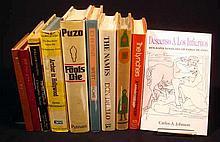 10V Vintage COLLECTIBLE LITERATURE Signed Mario Puzo Don DeLillo William Golding John Edgar Wideman Bernard Malamud Ross MacDonald Gerin-Lajoie