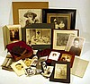 Antique PHOTOGRAPHS Tintypes Cartes de Visite Cabinet Cards Victorian Leather Albums Framed Formal Portraits Children Toys U.S. Navy WWI Nurses