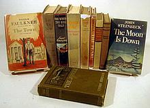 10V First Editions 20TH-CENTURY AMERICAN LITERATURE Dust Jackets Steinbeck Sinclair Mailer Passos Faulkner Hemingway