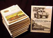 Vintage & Antique TRUCK ADVERTISING EPHEMERA Dodge Chevy Autocar Caterpillar American LaFrance Fire Engines Brockway History & Development Diesel British