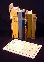 8V Mowinckel Psalms Lehmann-Haupt Epistle To Hebrews VINTAGE & ANTIQUE JUDAICA Baghdad Hilgenfeld Old Testament Maimonides Cannan Sembal
