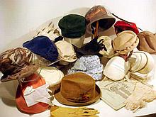 Antique & Vintage FASHION HATS & MAGAZINES Victorian Women's Clothing Styles 1880s Ladies' Mens' Hats 1950s Kid Gloves Sheer Ruffled Nylon Household Goods Catalog Clocks Mechanical Banks Toys China Etc.