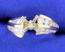 1 carat diamond mounting